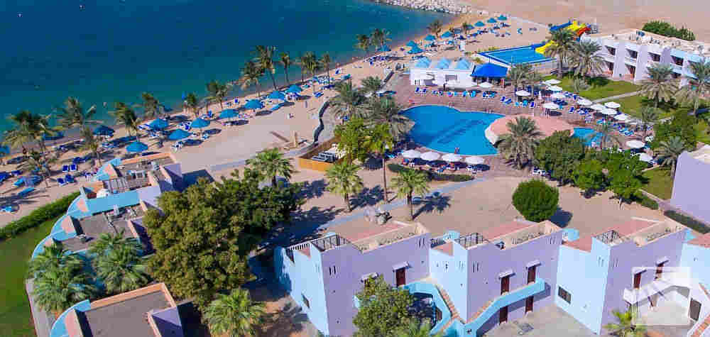All-Inclusive hotelli Hilton Al Hamra Beach & Golf Resort